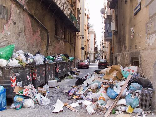 Rubbish In Napoli