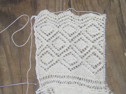 Christening Blanket Edging