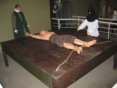 Spanish Inquisition torture method: the rack