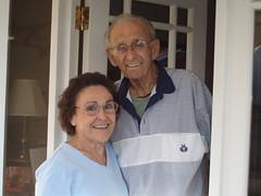 Granddad and Grandma Jeanne, September 8, 2007