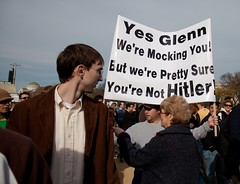 Yes, Glenn, we're mocking you! But We're pretty sure you're not Hitler!