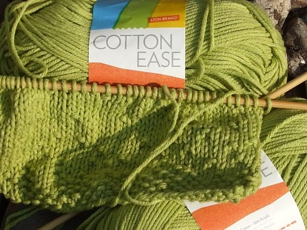 Chartreuse Cotton Ease