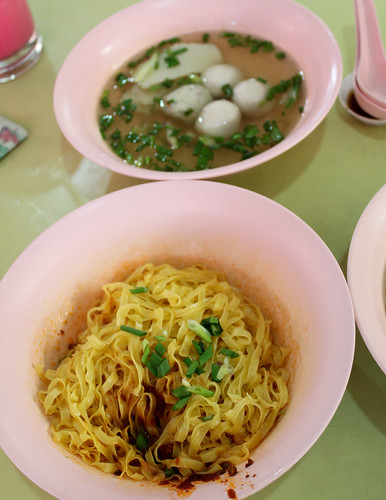 Fishball Mee Pok at Lavender Food Court