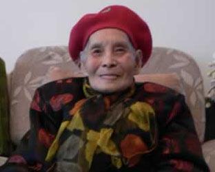 Rita Wong , nonagenarian