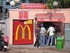 MacDonalds at Shivaji bus station, Delhi