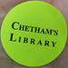 Chetham's Library sticker