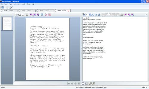 Myscript Example