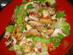 Chicken Salad wtih Champagne vinegar dressing