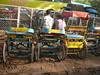 Tonga (horse carriage) ride through Old Delhi