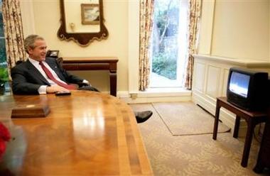 小布希的書房