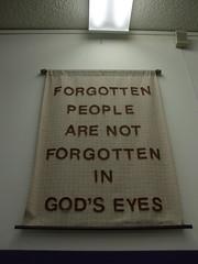 Banner from the Mennoite Center Thrift Store