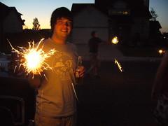 Jason, Beer, Sparkler