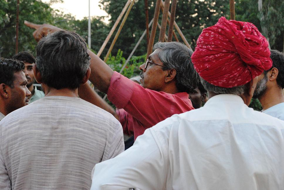 Pics from the satyagraha - 4 Oct 2010 - 22