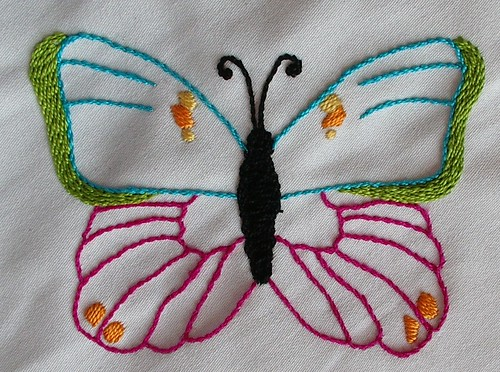 1st finished butterfly for curtain