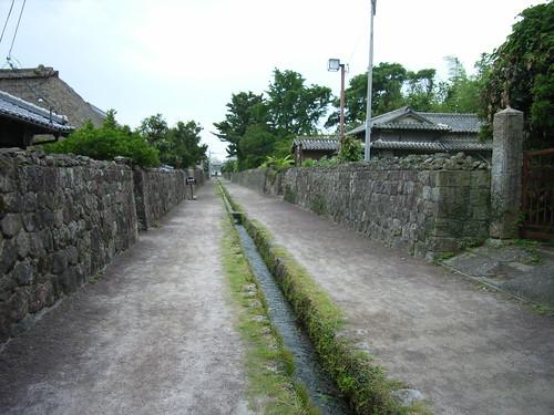 島原舊�家街道