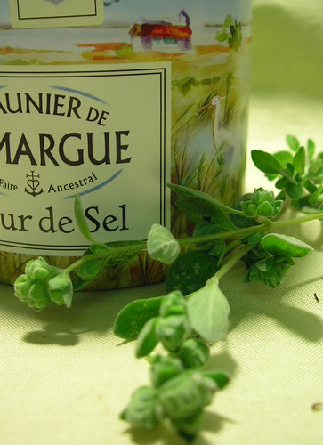 French Sea Salt (a gift from my friend Christine)