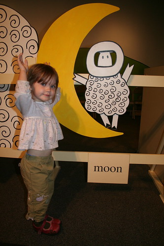 Moon Sheep action!