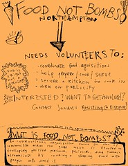 Local Flyer - Food Not Bombs