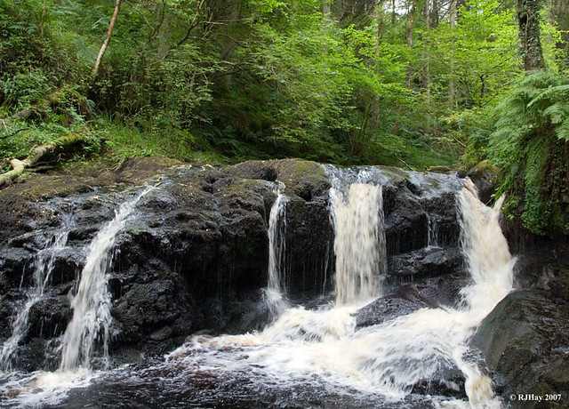 Falls on Glenariff River