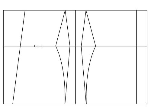 Underbust corset pattern - 15