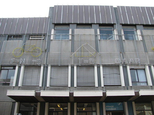 Jeroglífico en la clínica Altrecht en Utrecht 2/4