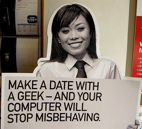 Geek dating?
