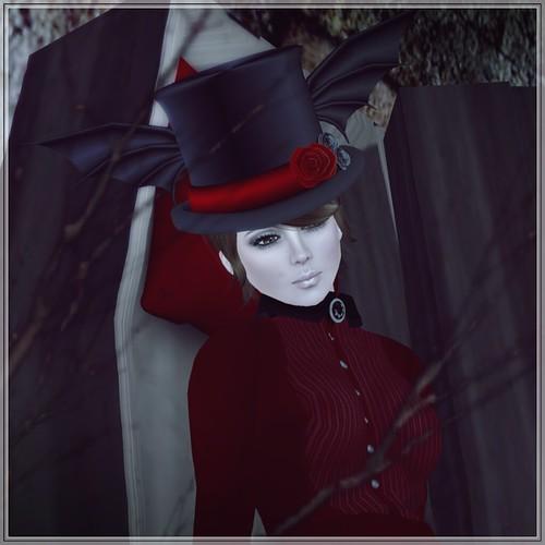 Hatpins - The Bat Hat - Sixty Linden Weekend