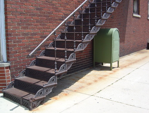 Stairway to somewhere, Findlay, OH
