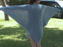 Lois' thought shawl