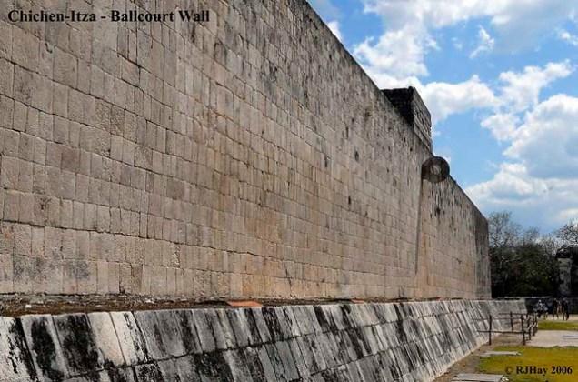 Chichen-Itza - Ballcourt Wall