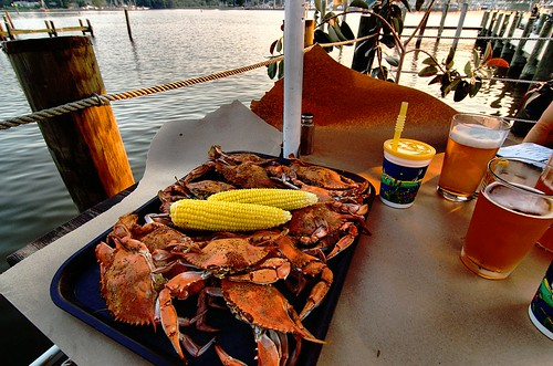Crabs, Beer and Bay