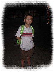 1st day school 8-1-2007