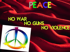 NO VIOLENCE - STOP THE WAR NOW