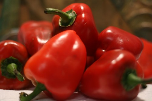 Lipstick Peppers (sweet and small)
