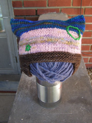 green bubble chaser hat - side two