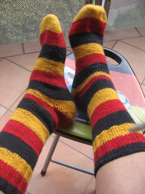 again, lucky socks