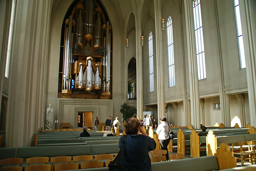 Inside Hallgrim's Church