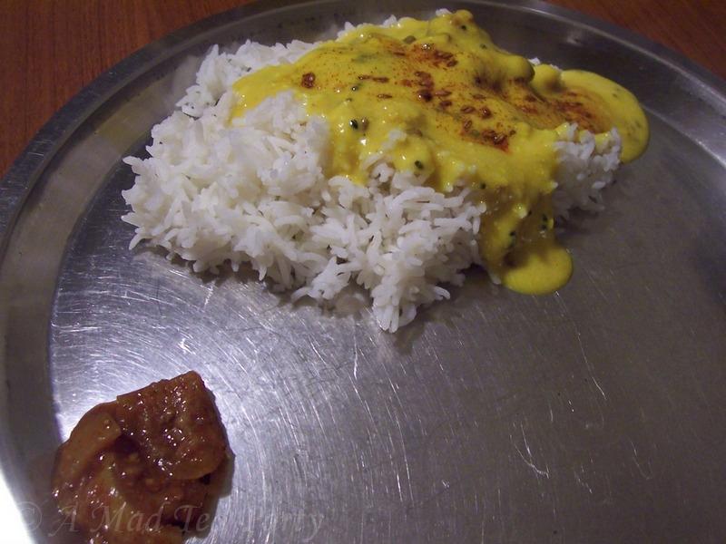 kadhi chawal