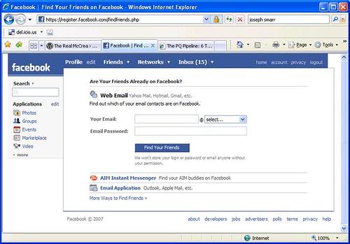 FacebookAddressBook