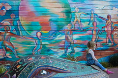 """Let the Children Play"" Mural"