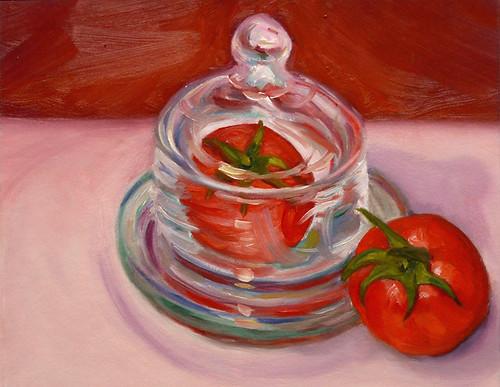 Tomato Under Glass