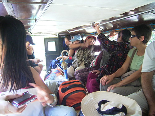 Banaue jeepney inside view transport commuting Pinoy Filipino Pilipino Buhay  people pictures photos life Philippinen  菲律宾  菲律賓  필리핀(공화�) Philippines