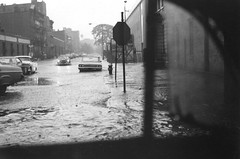 New York City during a heavy rainstorm, 1967