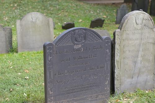 gravestones boston