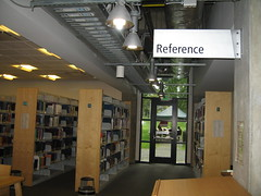First floor: reference books collection by uwbccclibraryFirst floor: reference books collection by uwbccclibrary