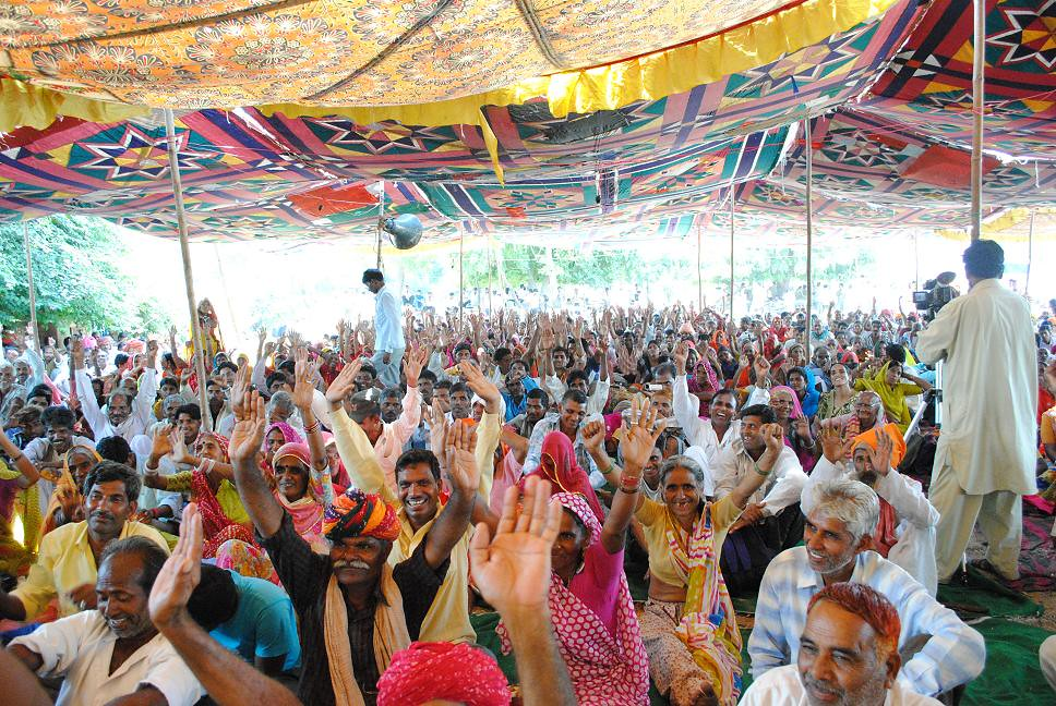Pics from the satyagraha - 2 Oct 2010 - 38