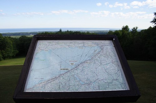 Map at Overlook Platform 1