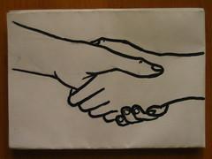 Shaking Hands by Aidan Jones, on Flickr
