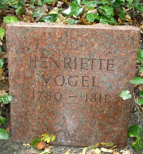 Grabstein Henriette Vogel