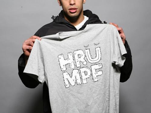 Hairy Hrumpf 2x4 T-shirt by Regular Product
